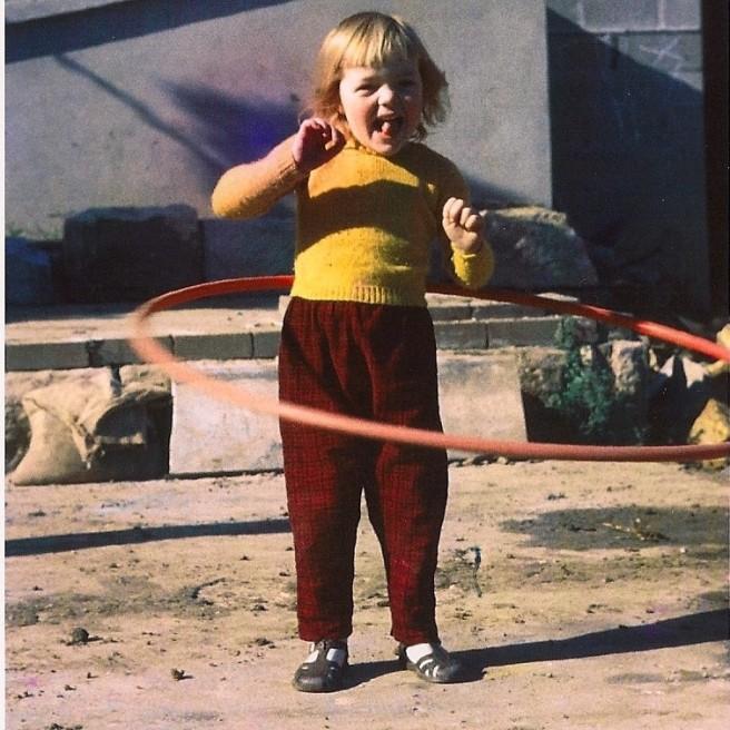 marianne with hoop